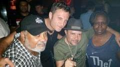 hanging out at cielo with Little Louie Vega