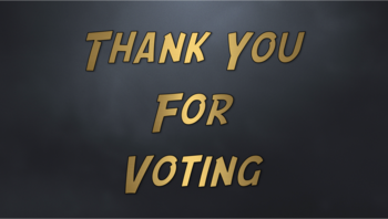ThankYouForVoting