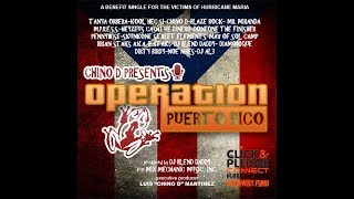Chino D Presents Operation Puerto Rico (DJ Blend Daddy Mix)