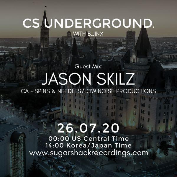 B.Jinx - Live On Sugar Shack (Cs Underground 26 July 2020) - Guest Mix: Jason Skilz (Ca)