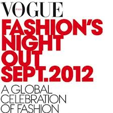 vogue fashion's night out sept. 2012 rome