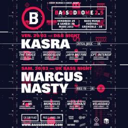 Bassodrome Festival 2.5 : D&B Night Mix