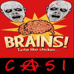 Brains taste like chicken