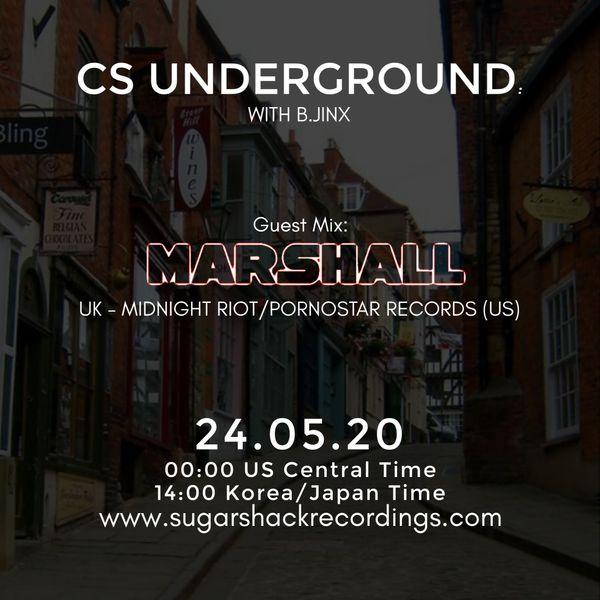 B.Jinx - Live On Sugar Shack (Cs Underground 24 May 2020)