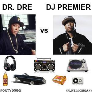 Dr. Dre vs DJ Premier