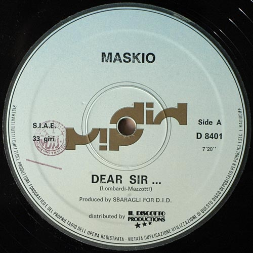 Maskio Dear Sir