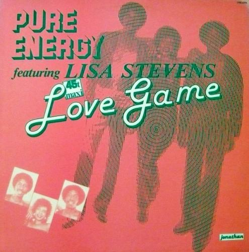PURE ENERGY FEATURING LISA STEVENS - LOVE GAME (1983)