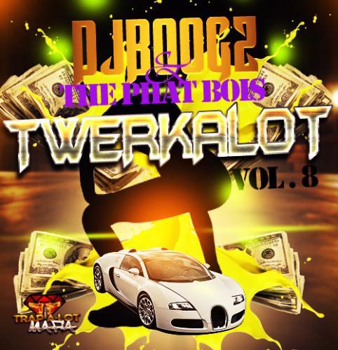 "Trap-A-Lot Mafia pres. Dj BoogZ & The Phat Bois - ""TWERK-A-LOT VOL.8 - tha.[.50/50.].mix"""