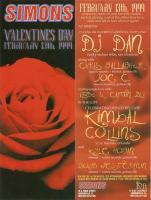 Live @ SIMONS - Valentine's Day 1999 - Classics night - 100% vinyl