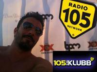Dj Peeza live on Radio 105 Italy August 2015
