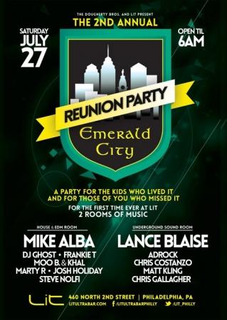 LIVE @ Emerald City