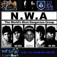 DJ IZE - W.C. ON ONE MIX.  WWW.DJIZE.ONE COVER