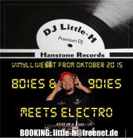Little-H Vinylliveset 80ies & 90ies meets Electro