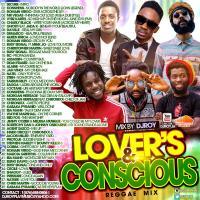 DJ ROY LOVER'S & CONSCIOUS REGGAE MIX 2015
