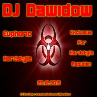 DJ Dawidow - Euphoric Hardstyle (Exclusive Mix For Hardstyle Republic@25.12.2015)
