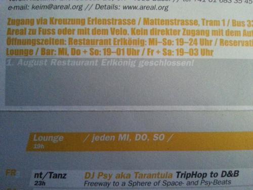 The Show-DJ Psy aka Tarantula(SkogRa)*TripHop to D&B@NT Areal,Basel-Stadt,Basle_CH-Switzerland[07.12.2001_Fr]