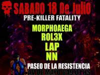 LAP @ PRE Killer Drumz Fatality (live DnB set)