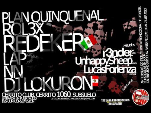LAP @ Killer Drumz (Live DNB set) Jun 12, 2010. Buenos Aires, Argentina