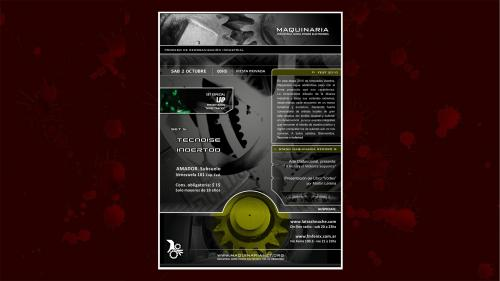 LAP @ Fiesta Maquinaria (Hard Electro Rhythm Noise Live Set) Oct 02, 2010