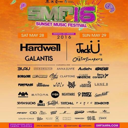 MIX FROM SPACE WITH LOVE! #296 SUNSET MUSIC FESTIVAL (SMF) Part.1