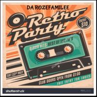 Da Roze Familee-Retro Disco Party