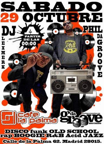 Da Groove Brother Live @ Cafe La Palma 20161025