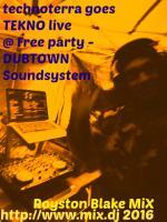 TT goes TEK Royston Blake live @ free party 2016