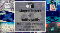 House, Dance and Remixes January 2017 - Mixed by Hollis Bollis