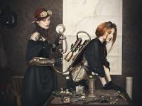 Neoclassical Darkwave + Steampunk Music Blend