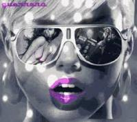 Lipstick and sunglasses