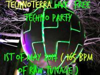 live 165 bpm DJ mix / technoterra 1st of may 2017