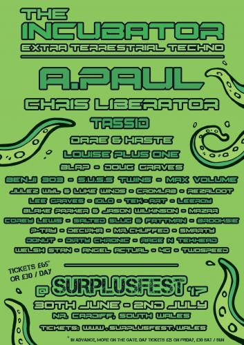 Brooksie - Surplusfest Promo 2017 - The Incubator