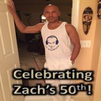 Celebrating Zach Gillis's 50th Birthday - DJ Suspence Style...
