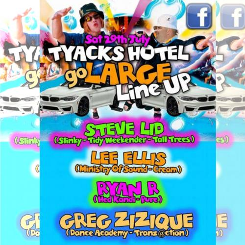 Greg Zizique - Live Tyacks Go Large July 2017