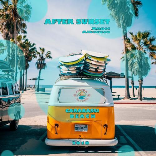 Angel Alboreca  AFTER SUNSET Carabassi Beach 2018