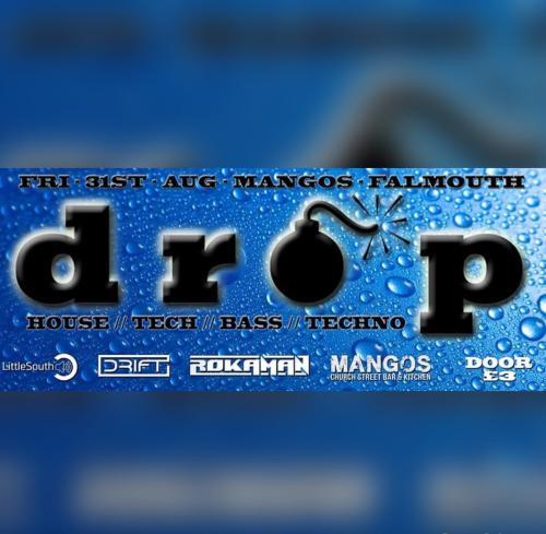 Greg Zizique - Live, DROP @ Mangos, Falmouth 31/08/18