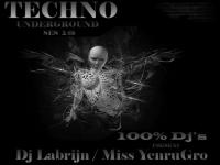 Dj Labrijn and Miss YenruGro - Techno Underground ses 18