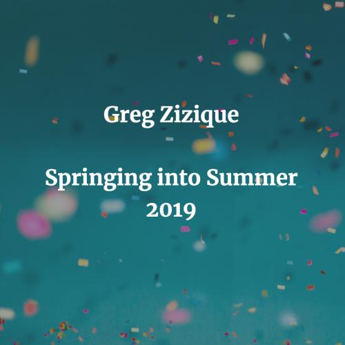 Springing into Summer 2019