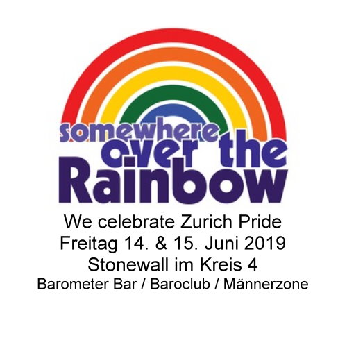 Somewhere over the rainbow (Zurich Pride)