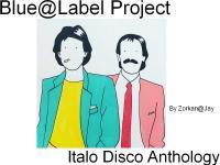 Blue@Label Project (Italo Disco Anthology #3)