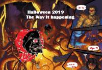 Halloween Radio Connection Salto radio 106.8 FM Amsterdam