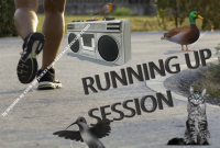 RUNNING UP SESSION