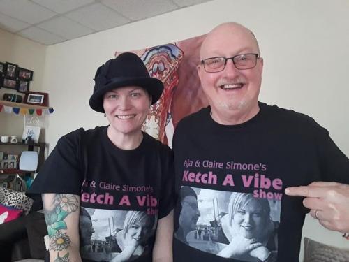 Aja & Claire Simone's Ketch A Vibe 569 Show Pt 2